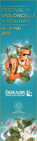 25 ans du Festival de violoncelle de Beauvais