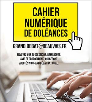 Grand Débat National : La Ville de Beauvais a ouvert un cahier de doléances
