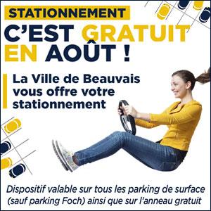 Parking gratuit Aout 2020